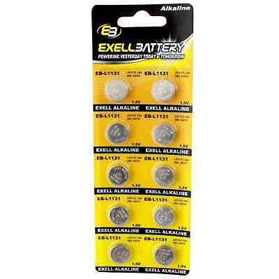 AU10.41 • Buy 10pcs Exell Size LR54 V389 389 AG10 L1131 Alkaline Watch Battery FAST USA SHIP