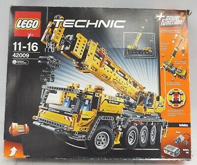 LEGO Technic Mobile Crane Mk II Set Number 42009 2606 Total Pieces BOXED - T19 • 141£