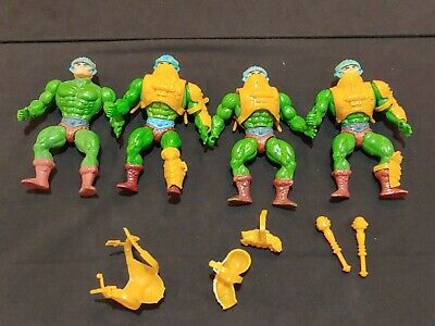 $20.50 • Buy Vintage Motu Man At Arms Figure Lot. Masters Of The Universe.
