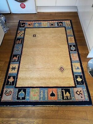 🐪Beautiful, Solid, Very Thick Rug 183*120. Very Heavy. 🐪 • 28£