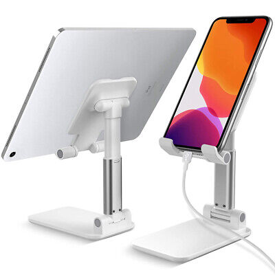 Universal Adjustable Portable Tablet Holder Stand Desk For IPad Phone IPhone • 8.58£