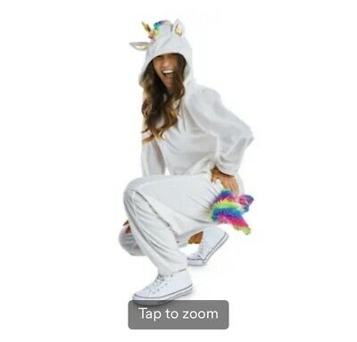 AU29.03 • Buy Unicorn Bodysuit Costume, One Piece Pajamas, Kigurumi - Unisex Small/Medium
