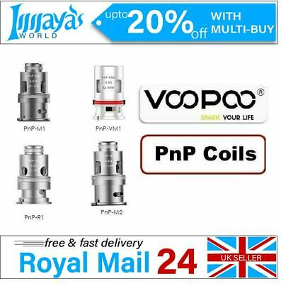 VooPoo VINCI PnP VM1 VM3 VM4 VM5 VM6 TM1 TM2 TR1 M1 M2 R1 R2 5x Replacement Coil • 10.42£