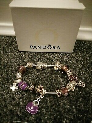 Imitation Pandora Braclet With Charms • 25£