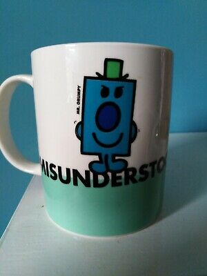 Mr Men Grumpy    Misunderstood  Mug By Roger Hargreaves -2009 • 8£