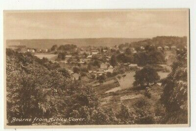 Bourne From Aveley Tower Farnham Surrey Vintage Postcard 321c • 4£