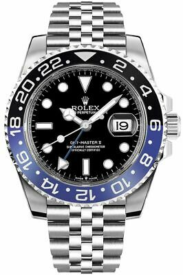 $ CDN22864.44 • Buy Rolex GMT-Master II Batman Jubilee Men's Watch 126710BLNR