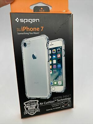 AU16.02 • Buy Spigen Crystal Shell Case For Apple IPhone 8 & IPhone 7 - Iphone SE 2020 Clear