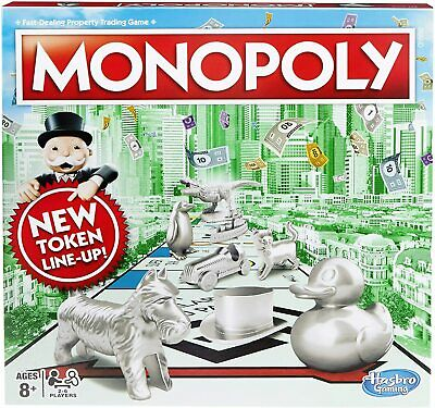 £22.95 • Buy Monopoly Classic New Token Lineup 100% Original Brand New Sealed