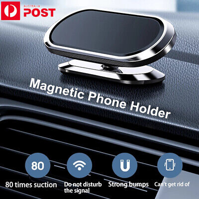 AU14.95 • Buy In Car Magnetic Phone Holder GPS Dashboard Mount Stand Bracket For Mobile Phone