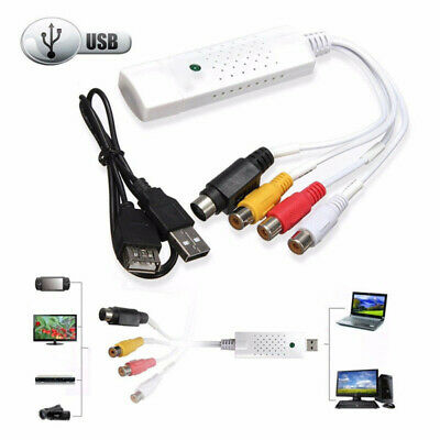 AU14.41 • Buy USB2.0 Audio VHS RCA To DVD Converter Capture Card Analog Video To Digital New