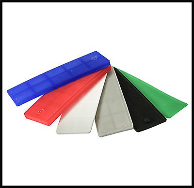 1mm To 6mm Glass Frame Plastic Packers Shims Spacers UPVC Windows Doors Kitchens • 3.25£