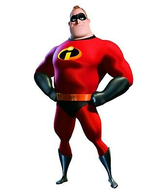 Mr Incredible Disney Movie Character Iron On Tee T-Shirt Transfer A5 • 1.29£