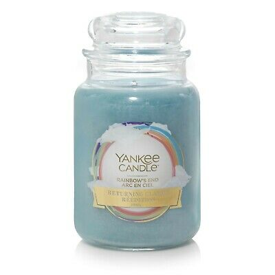 Rainbows End Yankee Candle 623g 22oz Large Jar - Brand New Genuine • 20.89£