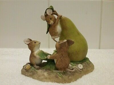 Merrie Mice Ornament Fruit Fun Pear Drop A1630 • 4.99£