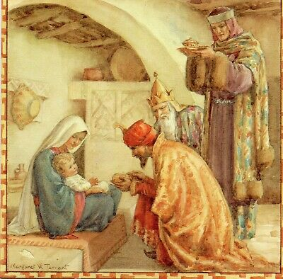 Margaret Tarrant Wise Men From The East   Medici Christmas Greeting  Card  • 1.99£