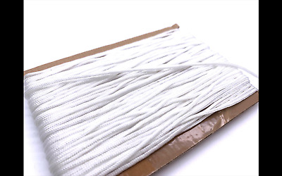 2mm X Blind White Cord For Roman Festoon Curtain String Pull Home Furniture DIY • 1.69£
