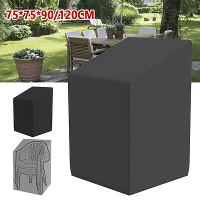 AU26.39 • Buy Waterproof Stacking Chair Cover Outdoor Garden Patio Furniture Chairs Uv Covers