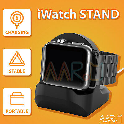 AU15.99 • Buy 【Premium Silicone】Apple Watch Holder Stand Charging Dock IWatch 1 2 3 4 5 6 SE