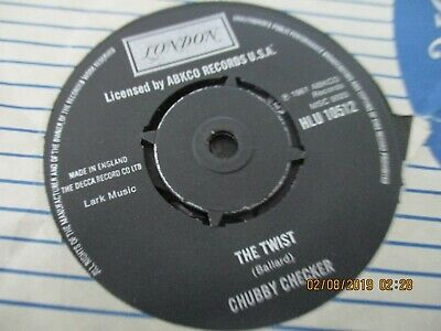 Chubby Checker/the Twist • 1.50£