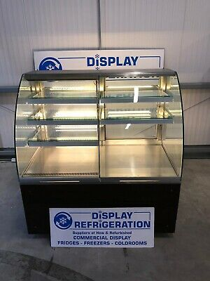 1.3 Isa Glass Fronted Patisserie Display Fridge Chiller Catering Cake Serve Over • 850£