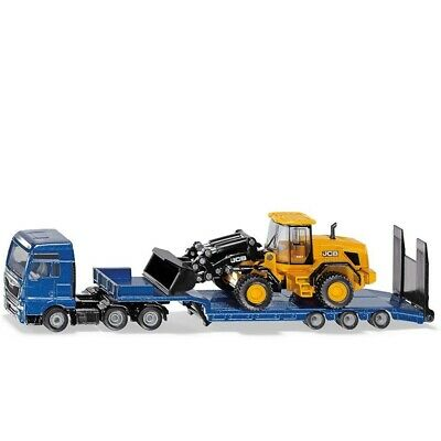 £25.99 • Buy MAN Truck With Low Loader And JCB Wheel Loader- 1:87 Scale By Siku - 1790 - New