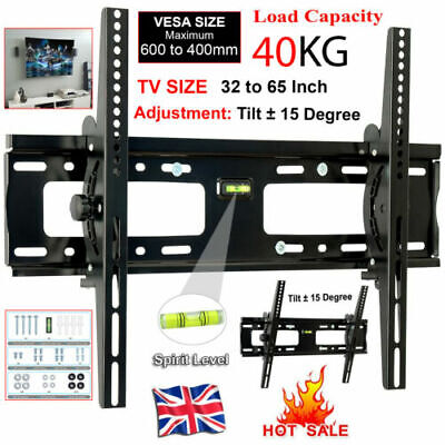 AU23.38 • Buy TV Wall Bracket Mount Tilt For 32 40 42 46 50 55 60 UP TO 65INCH SONY LG Samsung
