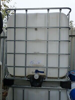IBC Water Tank. 1000 Litre IBC Container. Water Storage • 48£