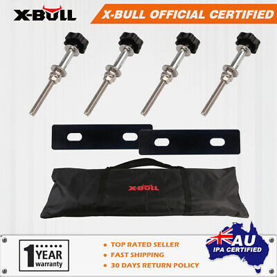 AU49.90 • Buy X-BULL Mouting Pins Set Recovery Tracks Fixing Carry Bag Zipper 4WD Accessories