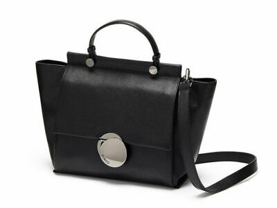 AU169 • Buy Mimco Waver Tote Black Soft Leather With Gunmetal Hardware BNWT RRP $450
