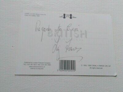 Signed Postcard From Carry On Cabby.signed On The Back Of The Card By Liz Fraser • 9.99£
