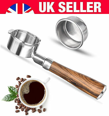 £41.35 • Buy 54mm Coffee Bottomless Portafilter Handle Filter For Breville Barista 8 Series