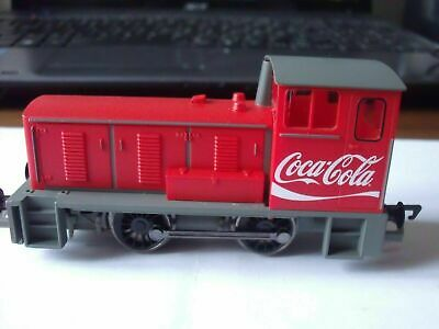 HORNBY COCA COLA BAGNELL SHUNTER UNUSED NEW UN BOXED FROM A TRAIN SET C PHOTOS • 39.99£