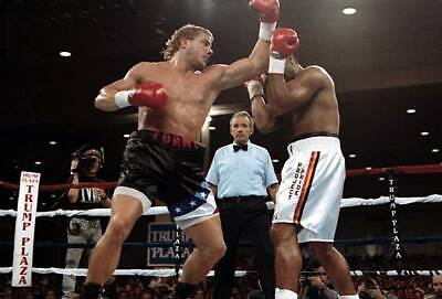 £4.55 • Buy OLD BOXING PHOTO Tommy Morrison Throws A Punch Against Ray Mercer