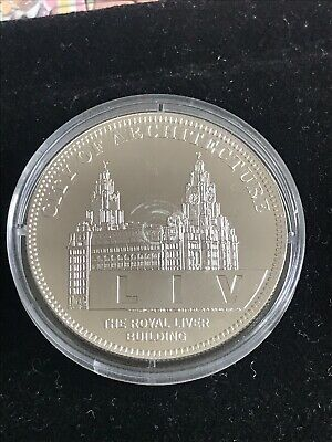 Royal Charter Liverpool City Of Architecture 2007 Collectors Coin Liver Building • 12£