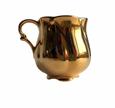 $ CDN12.88 • Buy Royal Winton Teacup ONLY Gold Covered Footed Tulip Shape Grimwades England