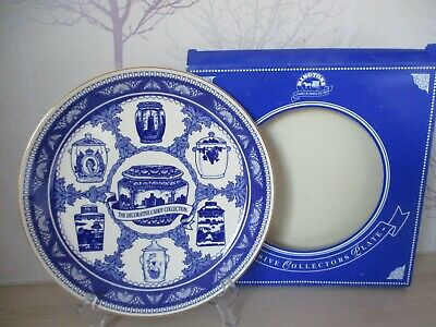 £3 • Buy Ringtons Collectors Plate  The Decorative Caddy Collection  Gilded Edge 1993 VGC