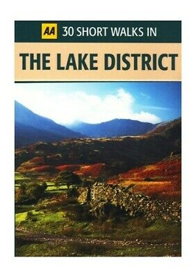 30 Short Walks In The Lake District Book The Cheap Fast Free Post • 5.49£