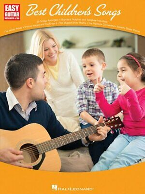 Best Children's Songs: Easy Guitar With Notes & Tab Book The Cheap Fast Free • 11.99£