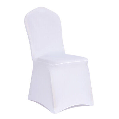 £99.99 • Buy 50-100 Chair Covers Spandex Wedding Banquet Anniversary Party Décor