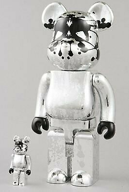 $1445.81 • Buy Pushead Pass Head Be Rbrick Bearbrick 100 400 Medicom Toys