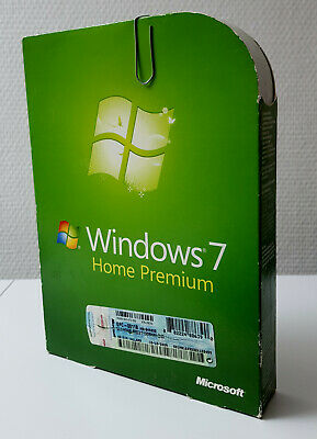 Microsoft Windows 7 Home Premium - 32/64 Bit - Deutsch - GFC-00118 - Inkl. MwSt • 38.91£
