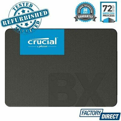 AU54.95 • Buy Crucial Bx500 Solid State Drive 240gb 2.5 Sata Internal Ssd Laptop Pc Computer