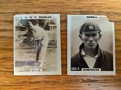 £1.99 • Buy Godfrey Phillips Cigarette Cards: Pinnace Cricketers X2 No's 42, 186