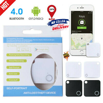 4 Pcs Tile Slim Combo Pack GPS Bluetooth Tracker Key Finder Anything Locators • 11.59£