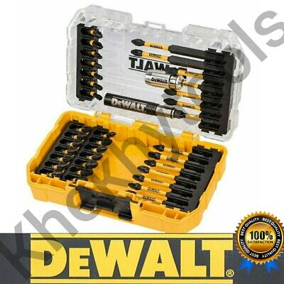 DeWalt 37 Pieces FLEXTORQ Screwdriver Bit Set Fits Makita  Bosch Milwaukee Hilti • 39.99£