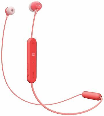 Sony Red Wireless Bluetooth Stereo In-Ear Headphones With Microphone • 14.99£