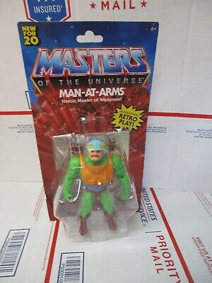 $14.99 • Buy Masters Of The Universe Man-at-arms Heroic Master Of Weapons New Fast Shipping!!