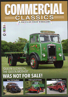 £8.75 • Buy Truck Lorry Book Commercial Classics Issue 3  FOCUS ON FOUR WHEELERS