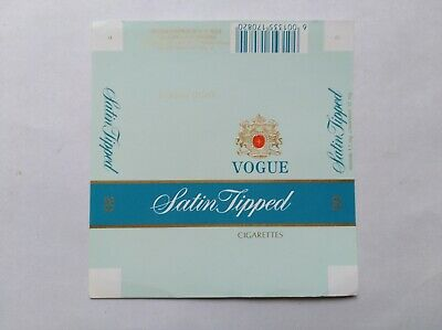 $ CDN3.76 • Buy  Opened Empty Cigarette Hard Packs(soft Front Side)-South Africa--Vogue